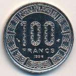 Центральная Африка, 100 франков (1996 г.)