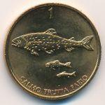 Словения, 1 толар (1992–1993 г.)