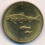 Словения, 1 толар (1992–1998 г.)