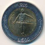 Сан-Марино, 500 лир (1985 г.)