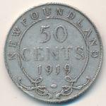 Ньюфаундленд, 50 центов (1919 г.)