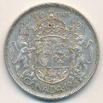 Канада, 50 центов (1953–1958 г.)