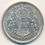 Канада, 50 центов (1956–1958 г.)