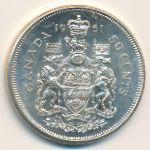 Канада, 50 центов (1961–1963 г.)