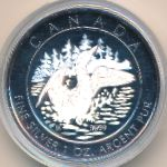 Канада, 5 долларов (2002 г.)