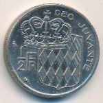 Монако, 1/2 франка (1974 г.)