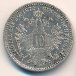 Австрия, 10 крейцеров (1872 г.)