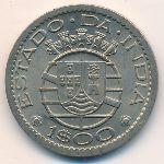 Португальская Индия, 1 эскудо (1959 г.)