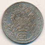 Австрия, 20 крейцеров (1787 г.)