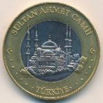 Турция, 3 евро (2004 г.)
