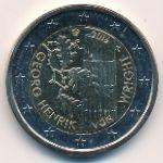 Финляндия, 2 евро (2016 г.)