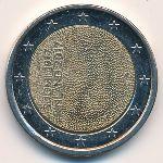 Финляндия, 2 евро (2017 г.)