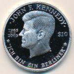 Виргинские острова, 10 долларов (2003 г.)