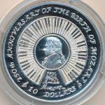 Виргинские острова, 10 долларов (2006 г.)
