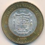 Мексика, 100 песо (2004 г.)
