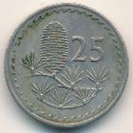Кипр, 25 мил (1977 г.)