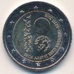 Эстония, 2 евро (2018 г.)