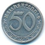 Третий Рейх, 50 рейхспфеннигов (1938 г.)