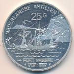 Антильские острова, 25 гульденов (1997 г.)