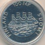 Финляндия, 100 марок (1991 г.)