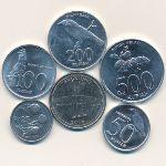 Индонезия, Набор монет