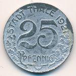 Тале., 25 пфеннигов (1921 г.)