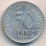 Ваттеншайд., 50 пфеннигов (1920 г.)