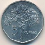 Сейшелы, 5 рупий (1982 г.)