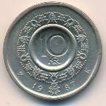 Норвегия, 10 крон (1987 г.)