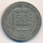 Западная Африка, 50 франков (1982 г.)