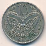 Новая Зеландия, 10 центов (1967 г.)