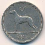 Ирландия, 6 пенсов (1962 г.)