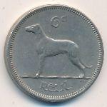 Ирландия, 6 пенсов (1967 г.)