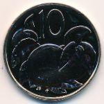 Острова Кука, 10 центов (1975 г.)