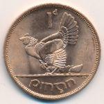 Ирландия, 1 пенни (1968 г.)