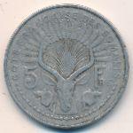 Французское Сомали, 5 франков (1948 г.)