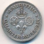 Маврикий, 1/4 рупии (1934 г.)