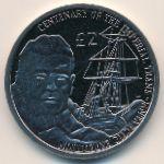 Британская Антарктика, 2 фунта (2015 г.)