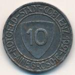 Кобленц., 10 пфеннигов (1921 г.)