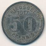 Эльберфельд., 50 пфеннигов (1917 г.)
