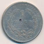 Уругвай, 1 песо (1893 г.)