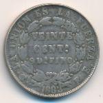 Боливия, 20 сентаво (1882 г.)