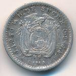Эквадор, 1/2 десимо (1905 г.)