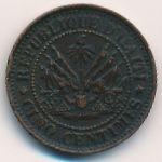 Гаити, 5 сентим (1863 г.)