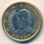 Испания, 1 евро (1999 г.)