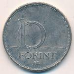 Венгрия, 10 форинтов (2008 г.)