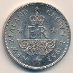 Новая Зеландия, 1 крона (1953 г.)