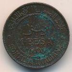 Итальянское Сомали, 1 беса (1909 г.)