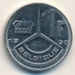 Бельгия, 1 франк (1990 г.)