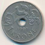 Норвегия, 1 крона (1997 г.)